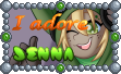 Cute Tuft Stamp - ''I adore Jenna'' by TheLazyAuthor