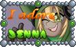 Cute Tuft Stamp - ''I adore Jenna'' by TheLazyAuthor