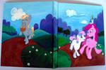 Pinkie, Sweetie Belle, and Derpy Sketchbook