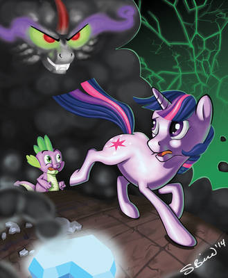 Outrun Your Demons: Twilight Vs. Lord Sombra by RabidBrains