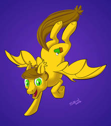 Chef Sandy Bat Pony by RabidBrains
