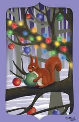 207 Holiday Card by RabidBrains