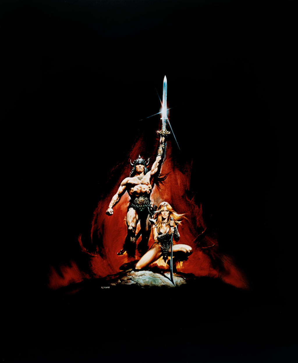 Conan The Barbarian [Hi-Res Textless Poster] By
