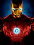 Iron Man [Hi-Res Textless Poster]