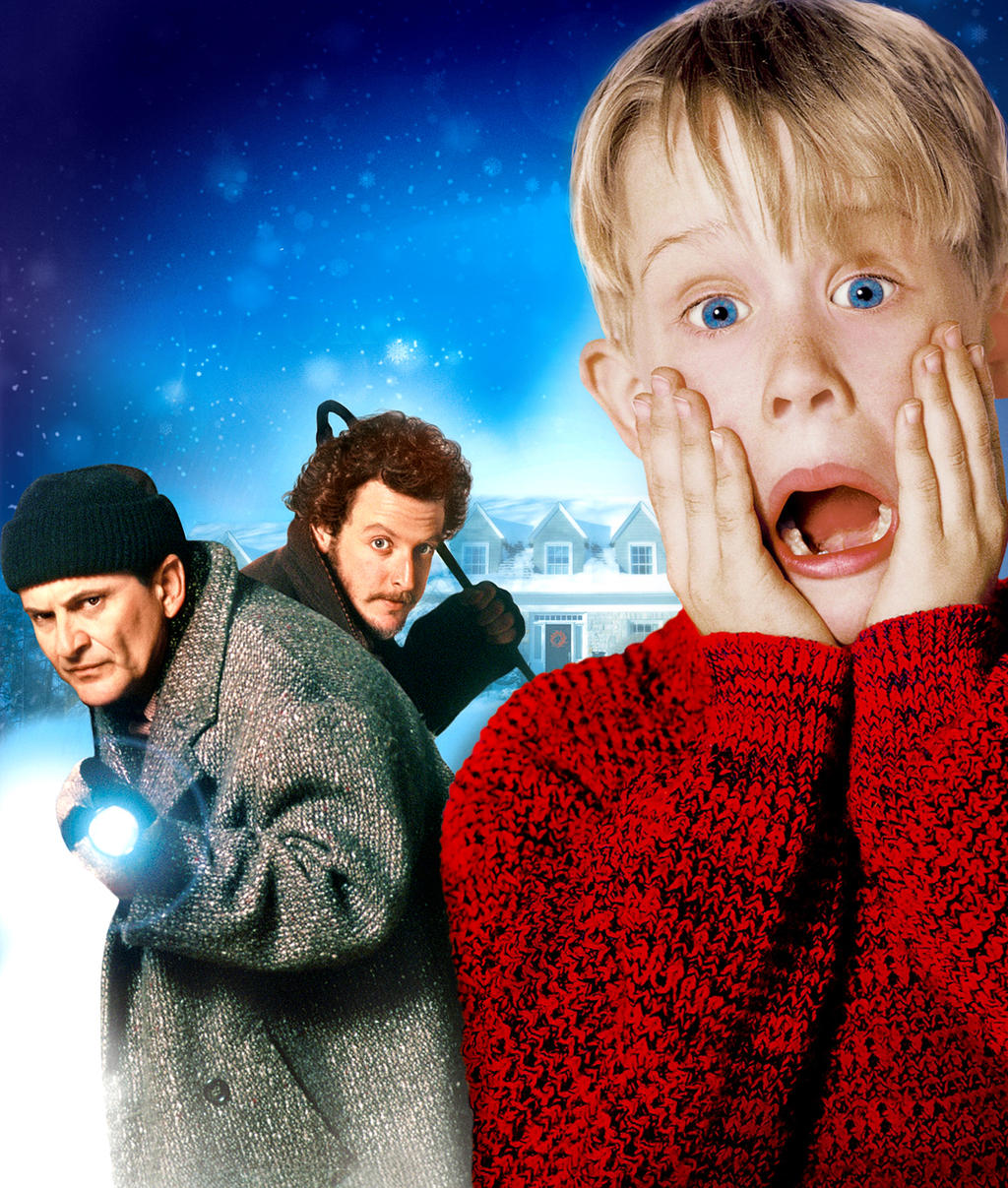 Home Alone [Hi-Res Textless Poster] By Ihaveanawesomename