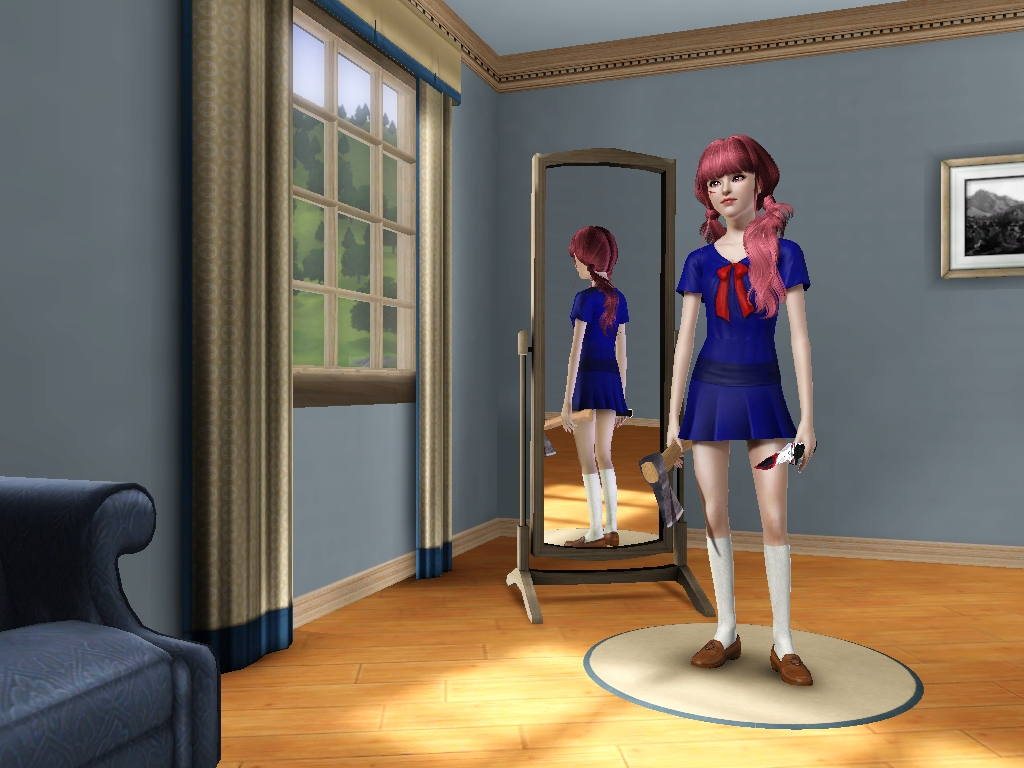 Dress up yuno gasai - Sims 3 Yuno Gasai Download By Princessgarebear