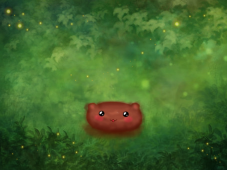 cute creature alone.. by mayne-airi145