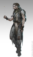 Medieval concept - A vagrant