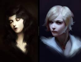 Portrait Study by katorius
