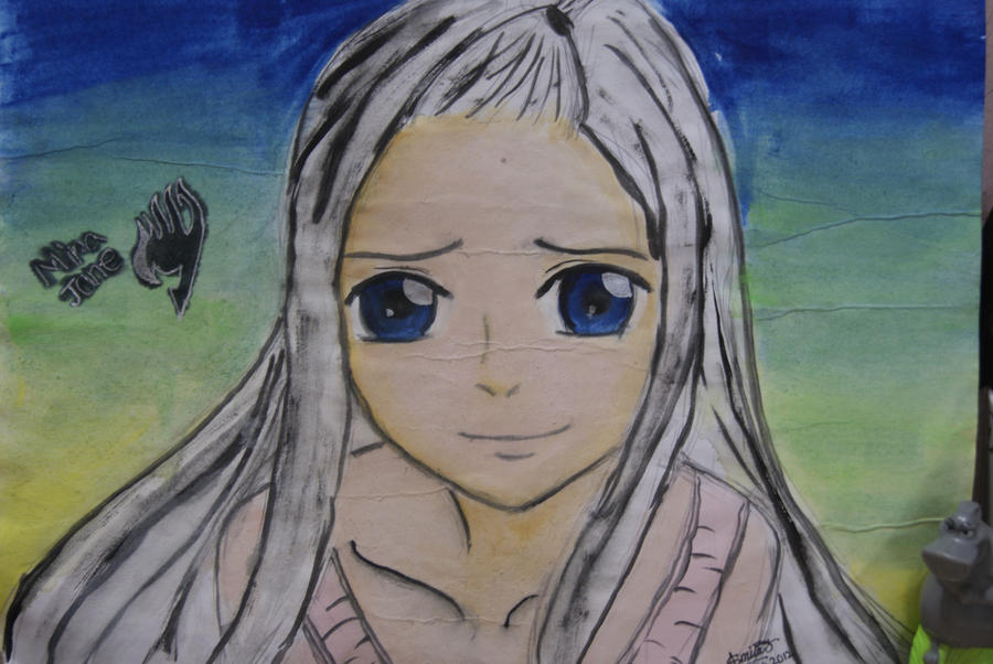 mirajane-fairy tail by love-to-imagine
