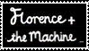 Florence + the Machine Stamp by XXCookierox5509XX