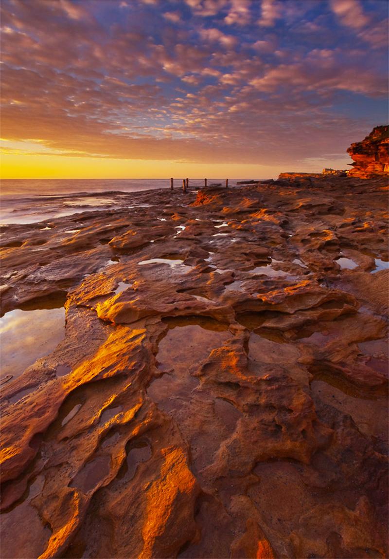 Sunrise at South by artdejohn