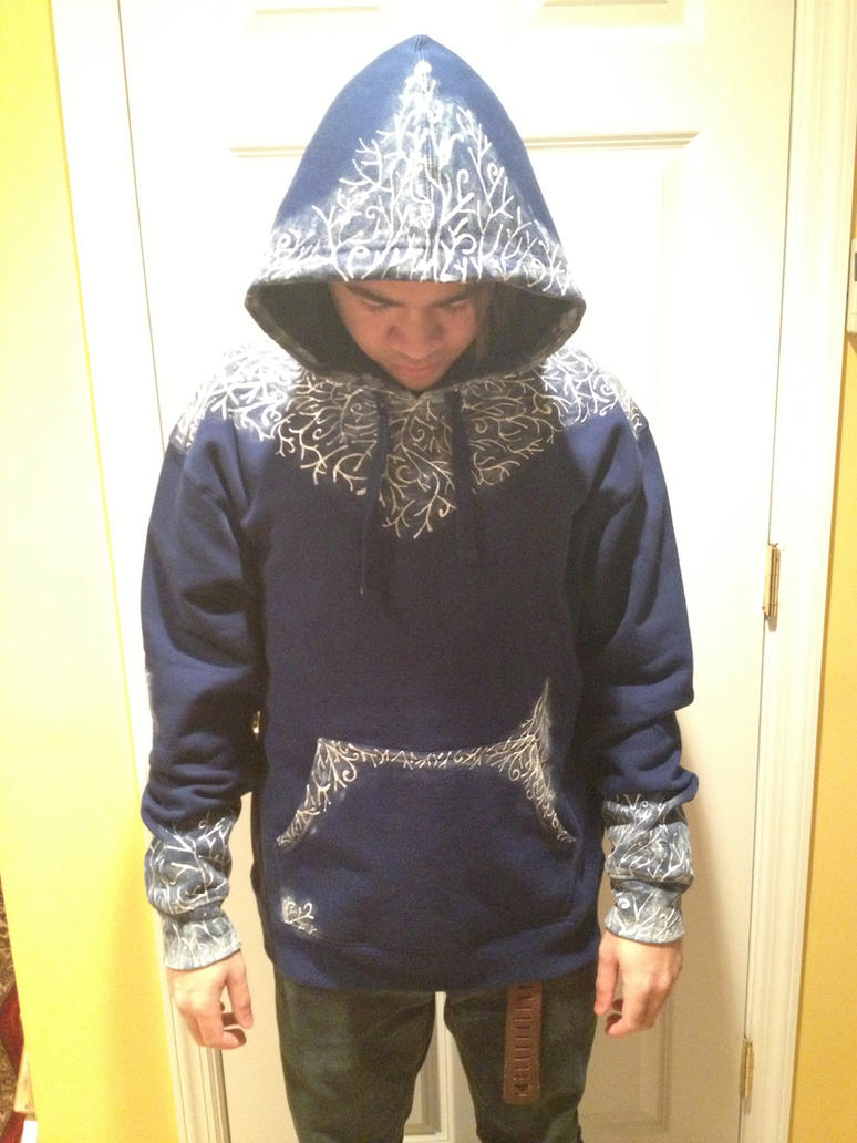 Jack Frost Hoodie (Sold) by TheAlchemicFox