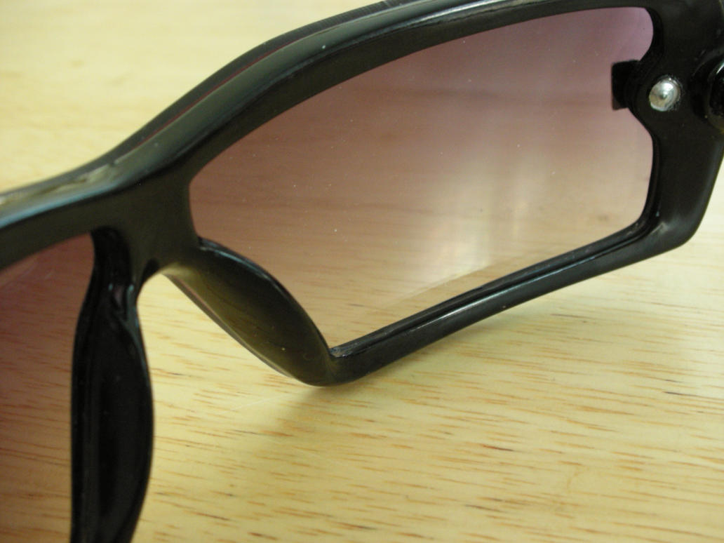 macro of sunglasses by azndlish