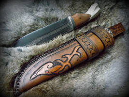 Sheath 2 and blade by The-Beast-Man
