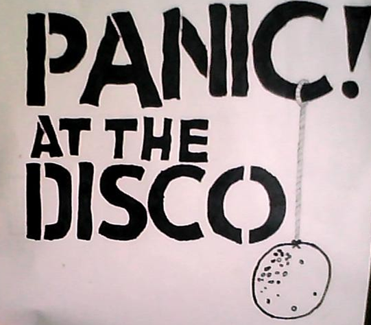Panic! At The Disco shirt graphic design by ...