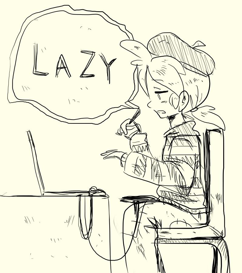 Lazy by VooDooDollMaster
