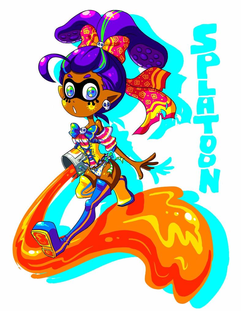 Splatoon  ayy by VooDooDollMaster