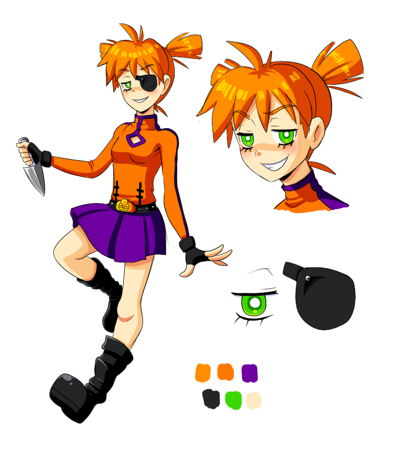Pumpkin reference by VooDooDollMaster