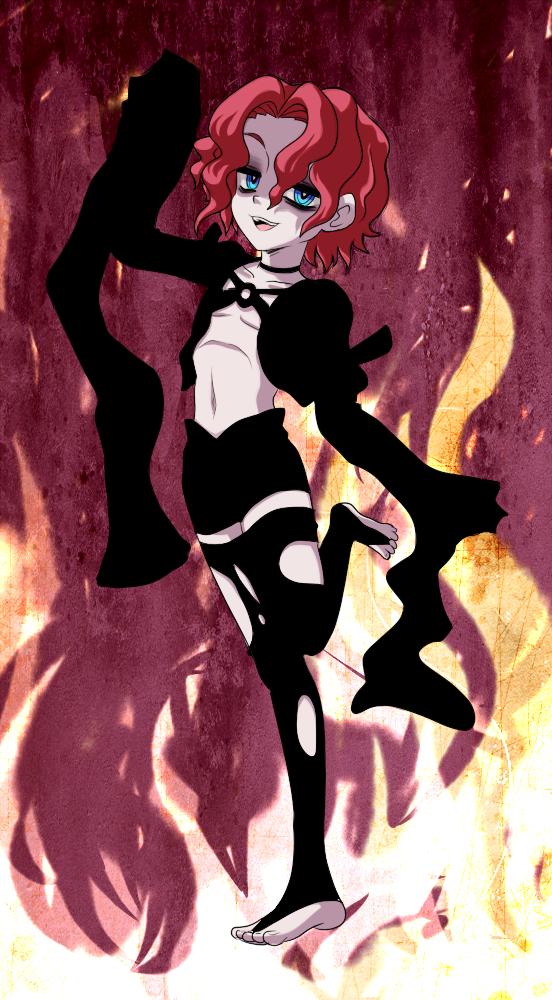 Psycho Mantis Fire no mask by VooDooDollMaster