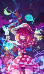 Halloween Mushroom