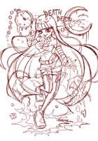 Jessabell sketch by VooDooDollMaster