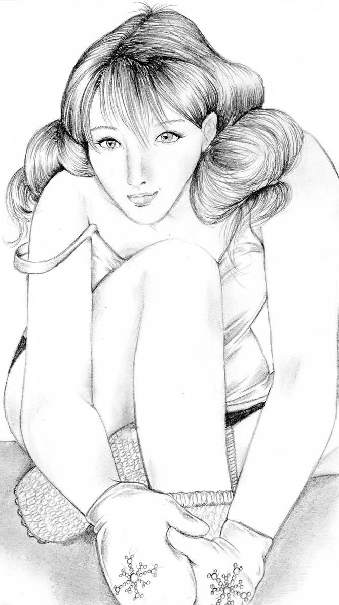Hot girl cold days by NanakoHarrison