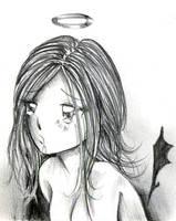 Little Fallen Angel... by NanakoHarrison