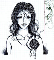doodles Rika Kirika by NanakoHarrison