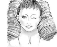 mileina portait by NanakoHarrison