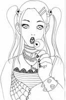 Shinobu eye lollipop by NanakoHarrison