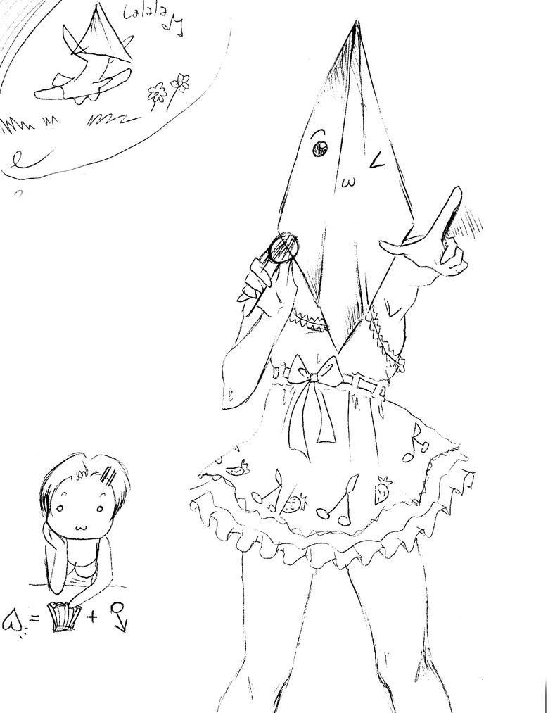 pyramid head goes Ranka by NanakoHarrison