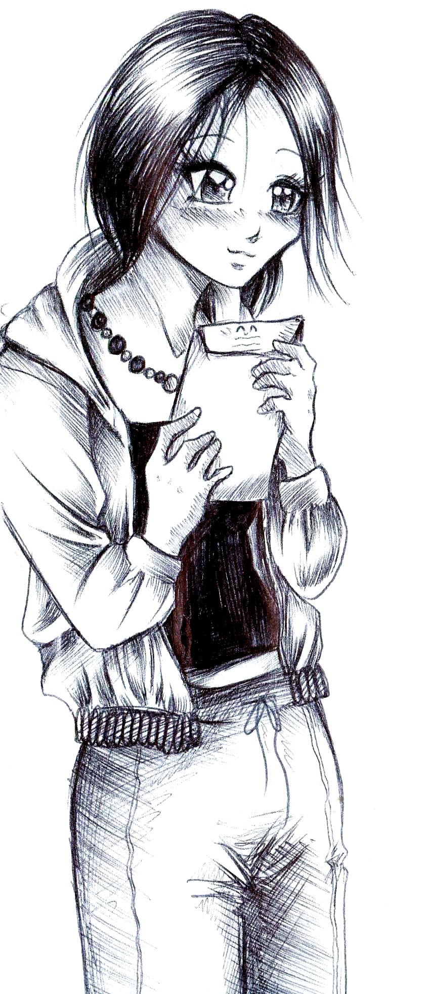 Shinobu got a letter by NanakoHarrison