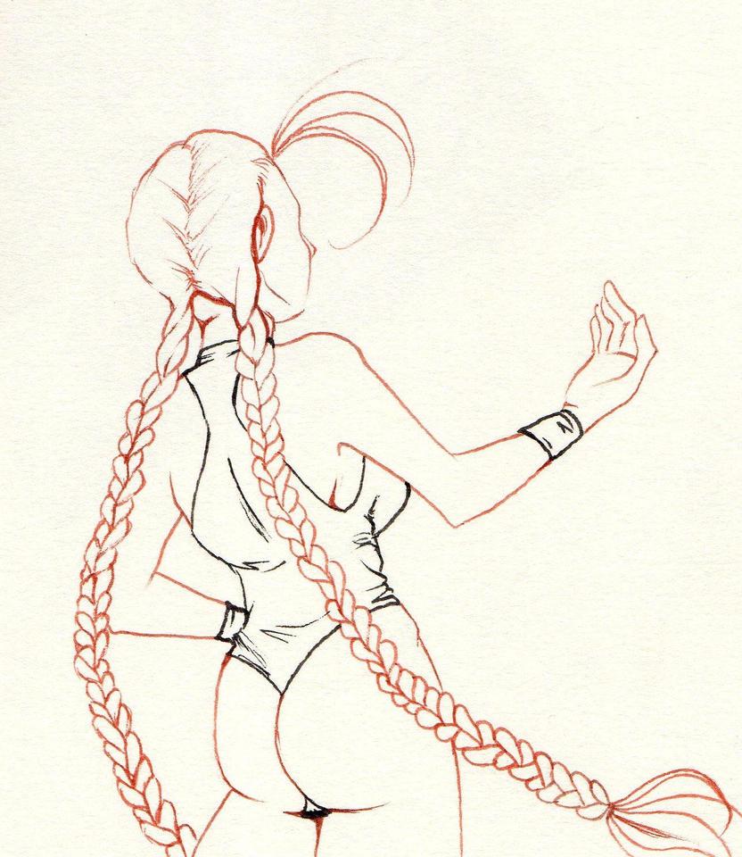 cammy lineart by NanakoHarrison