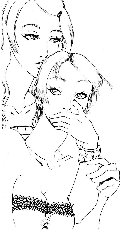 Corrie Constance lineart by NanakoHarrison