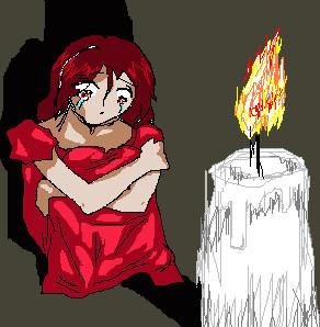 Candle light: Rika by NanakoHarrison