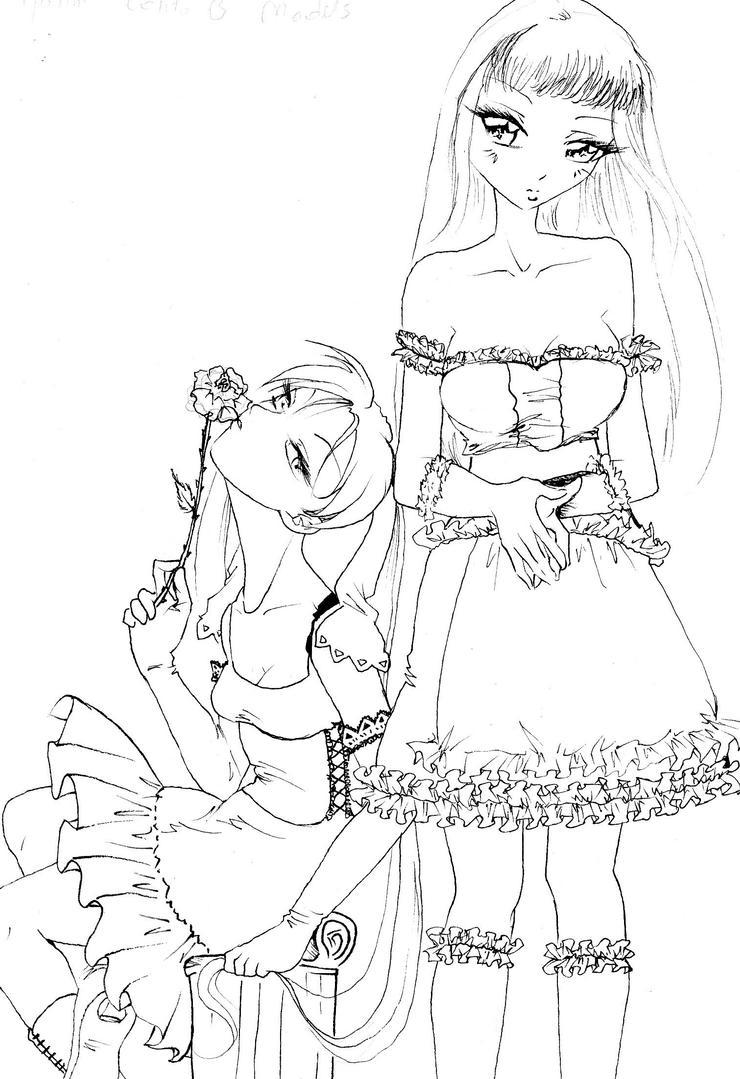 gothic lolita models by NanakoHarrison