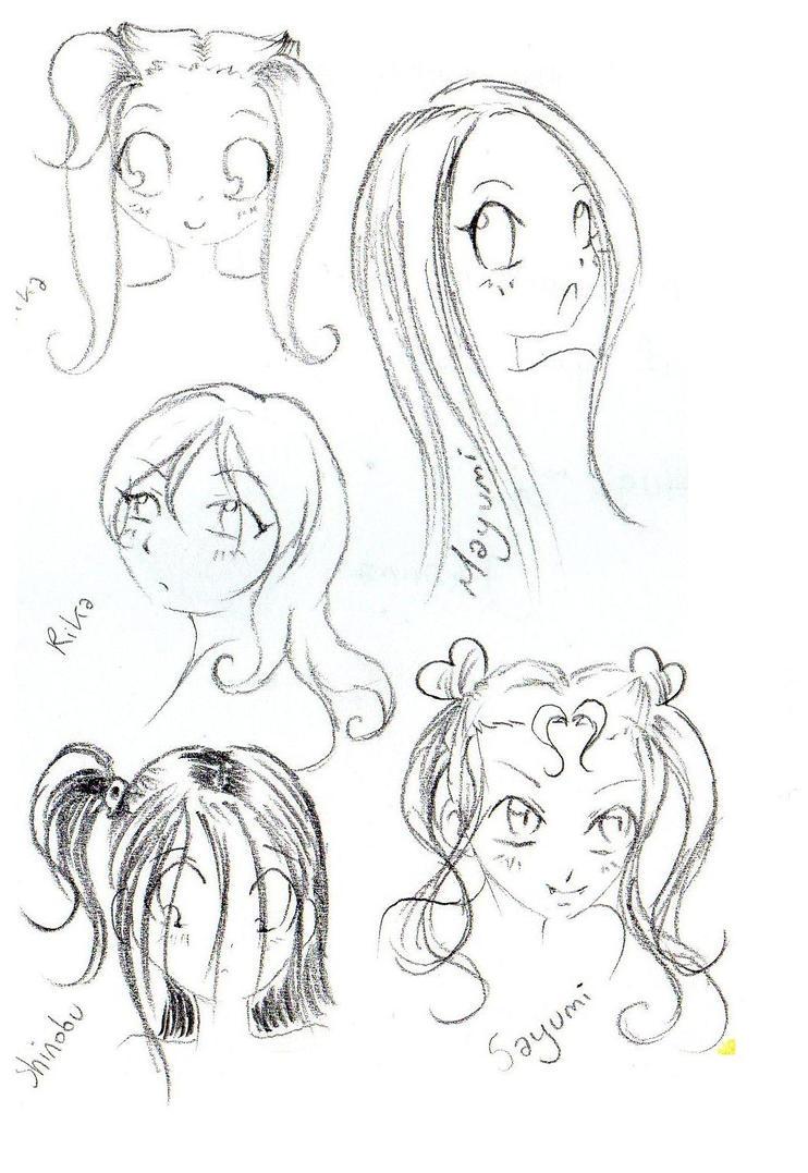 my OCs sketch 4 Yuki by NanakoHarrison