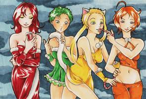 Party Girls by NanakoHarrison
