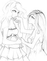 pinkie shy shall we dance? by NanakoHarrison