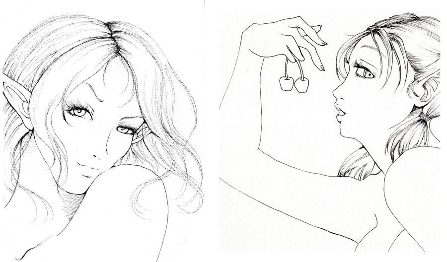 nienna portait by NanakoHarrison