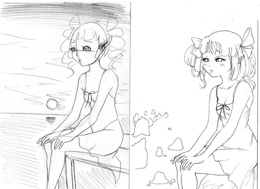 tema: sketch and lineart by NanakoHarrison
