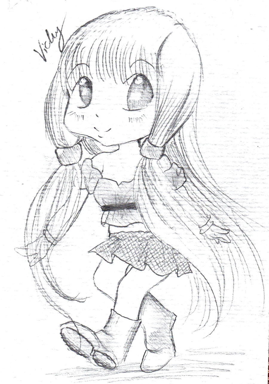 sketch: Vicky for Kobra94 by NanakoHarrison