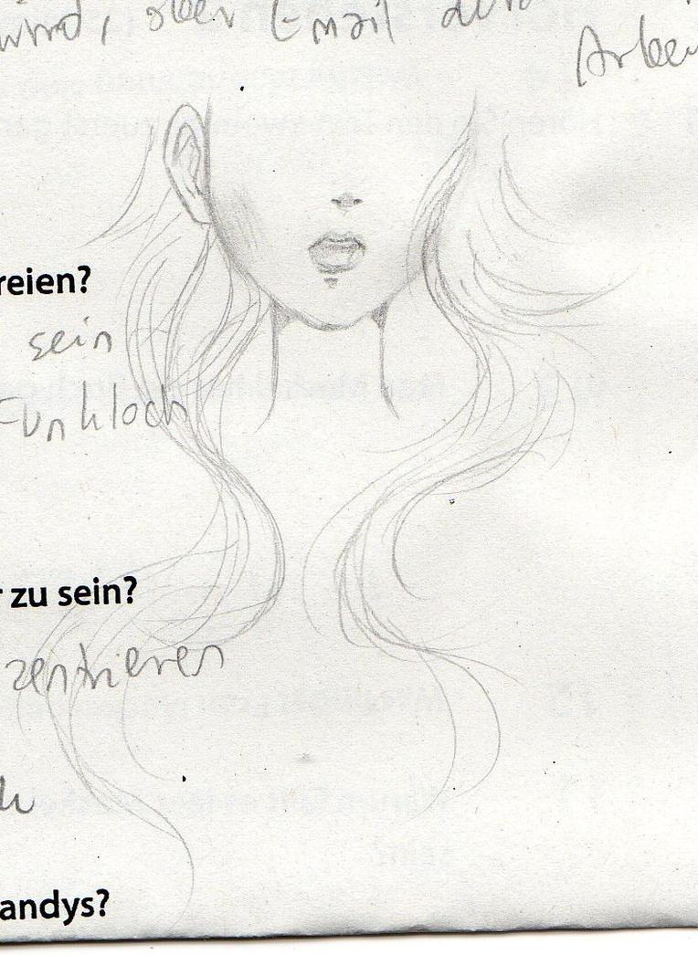 kiri school sketch by NanakoHarrison