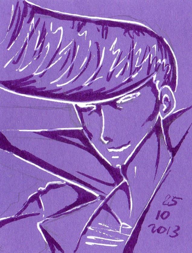 Ryu sketch raw by NanakoHarrison