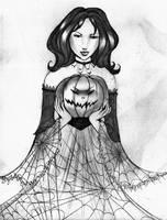 The Mistress of Pumpkins by NanakoHarrison