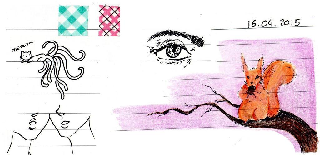 school doodles by NanakoHarrison