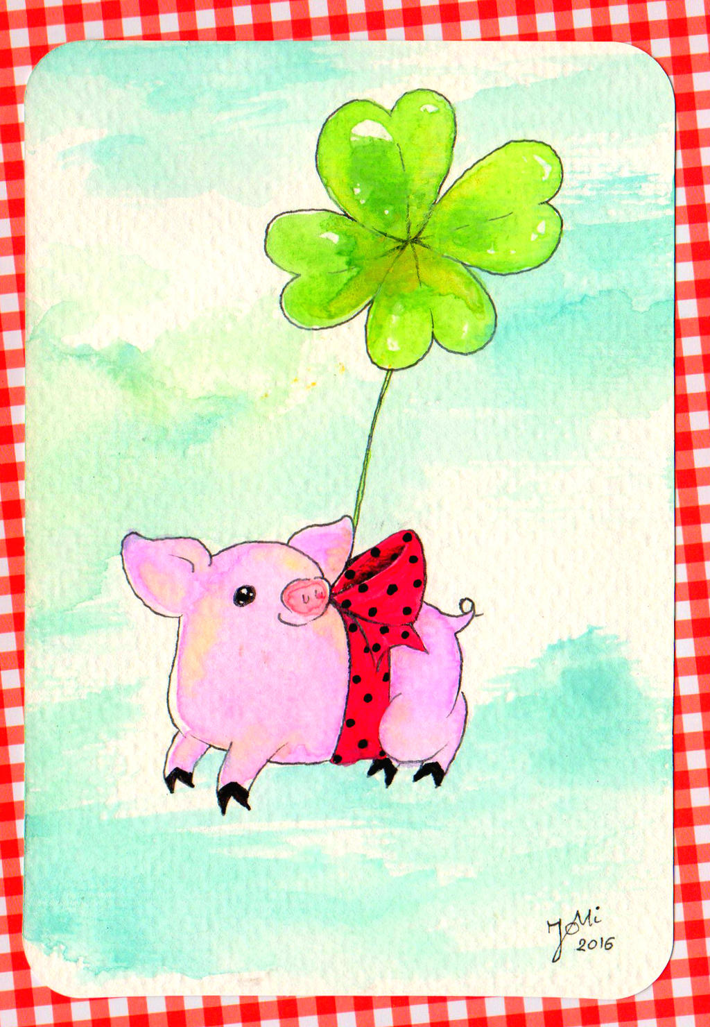 Piggy 2016 by NanakoHarrison
