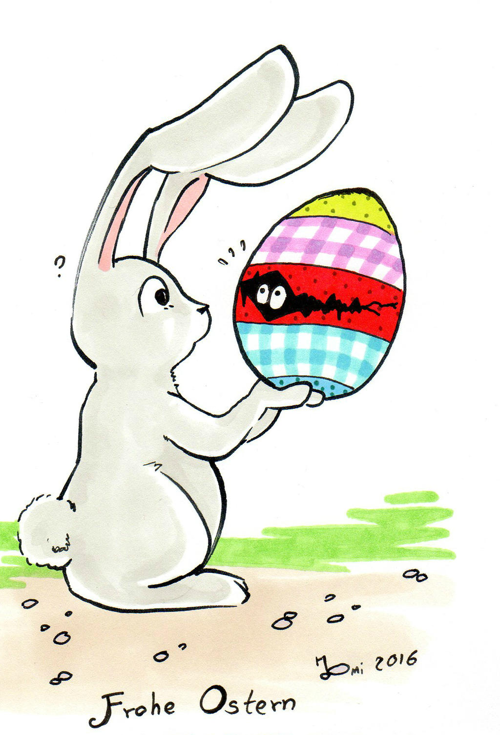 Happy Easter 2016 by NanakoHarrison
