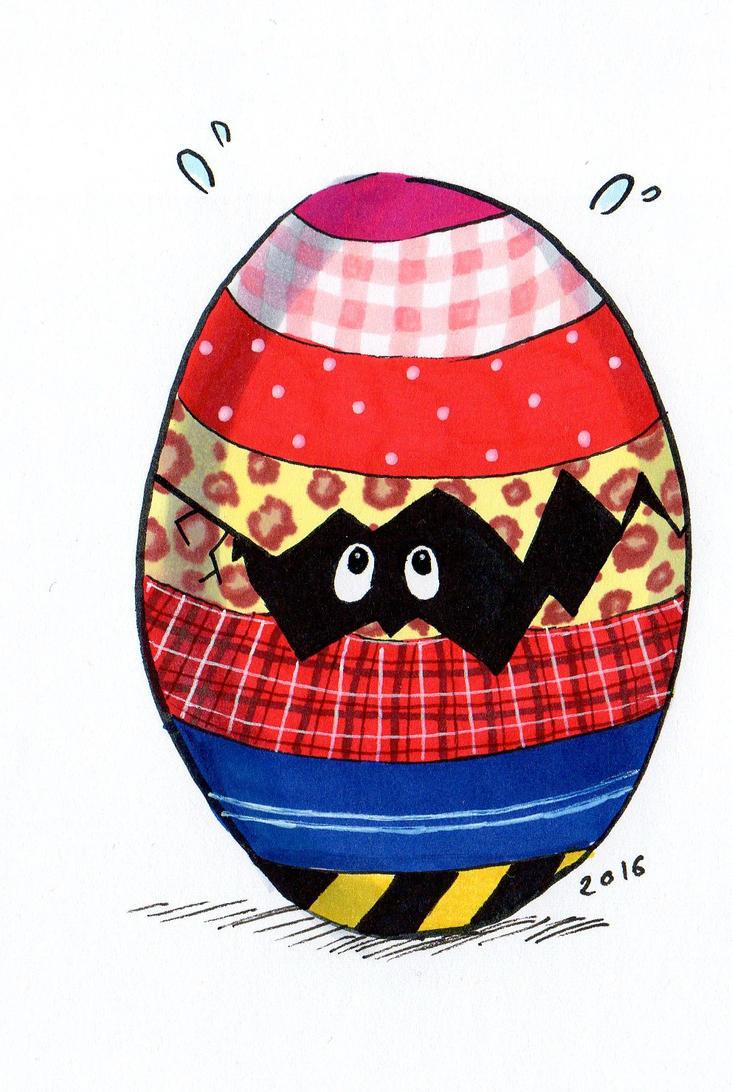 Shy eggy by NanakoHarrison